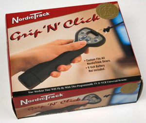 NordicTrack Ski Machine Grip 'N' Click Electronic Hand Grips