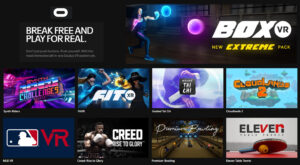 Oculus Virtual Reality Fitness Games