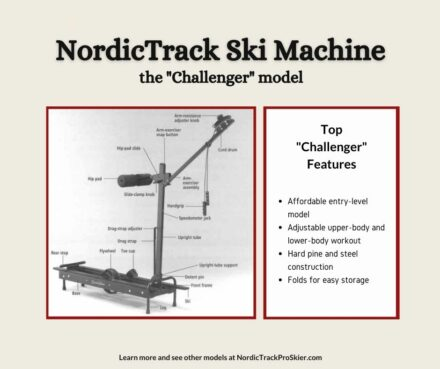 NordicTrack Challenger Cross Country Ski Machine