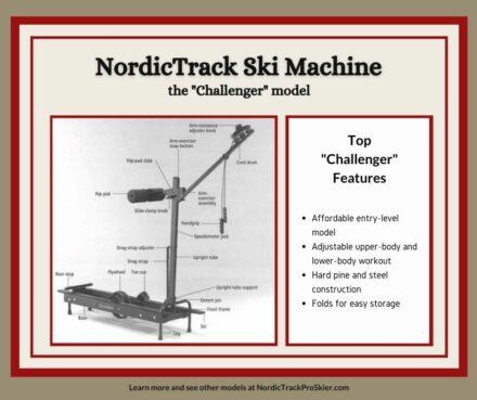 NordicTrack Challenger Cross Country Ski Machine