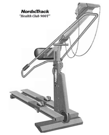 NordicTrack 900-T health club model